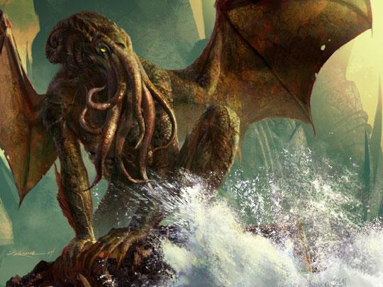 HP Lovecraft's Ancient Evil Poop